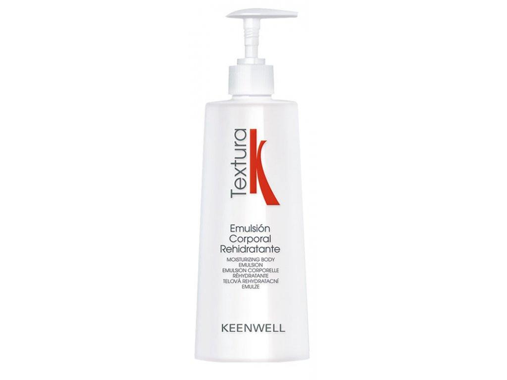 Keenwell TEXTURA Re-Hydrating Body Emulsion - hydratační tělová emulze 500ml