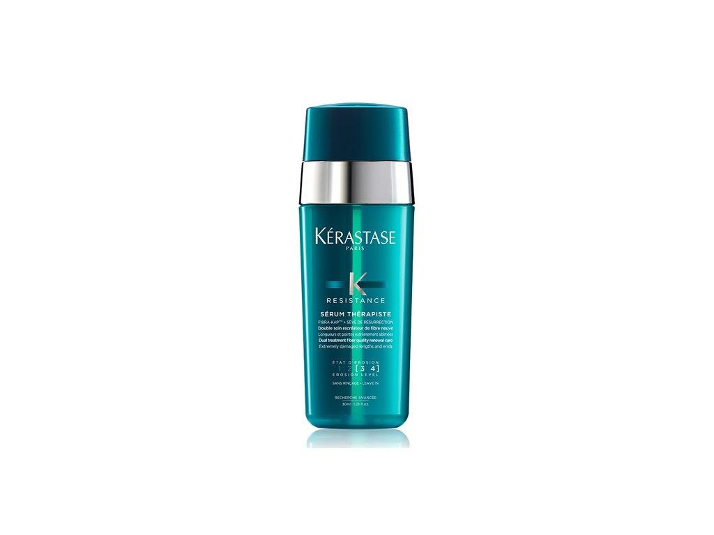 Kérastase Résistance Thérapiste - obnovující sérum s termo ochranou pro velmi poškozené vlasy 2x15ml