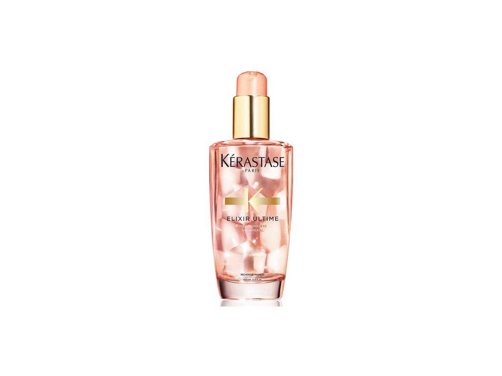 Kérastase Elixir Ultime Rose - pečující olej pro barvené vlasy 100 ml