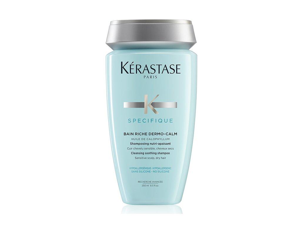 Kérastase Specifique Bain Riche Dermo-Calm - zklidňující šampon pro citlivou pokožku hlavy 250ml
