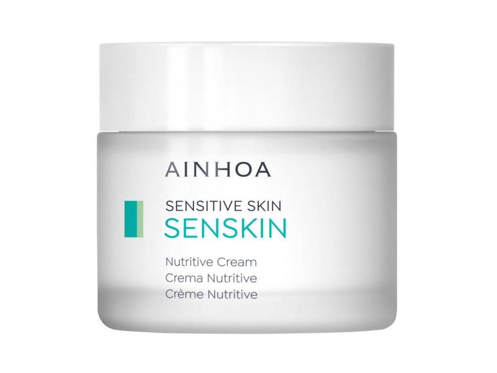 Ainhoa Senskin Nutritive Cream – výživný noční pleťový krém pro citlivou pleť 200ml
