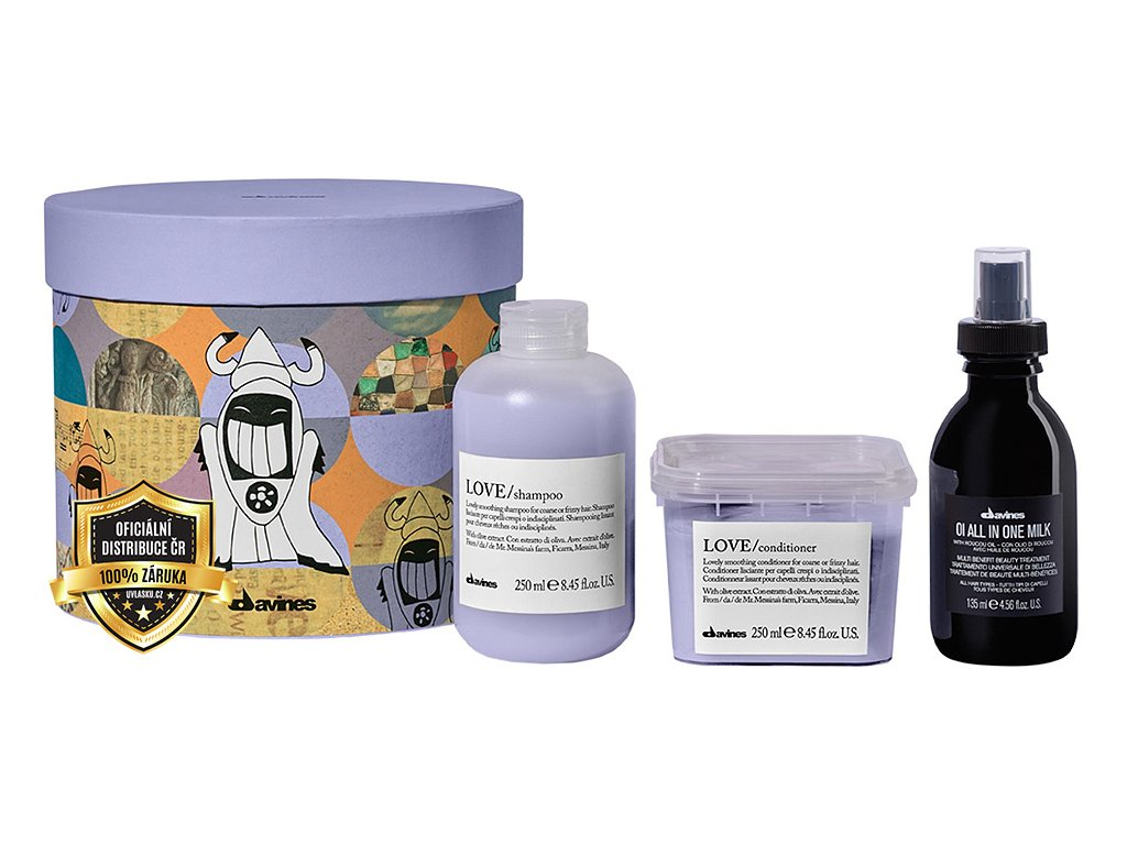 DAVINES Love Smoothing Cyber Smoothing Kit