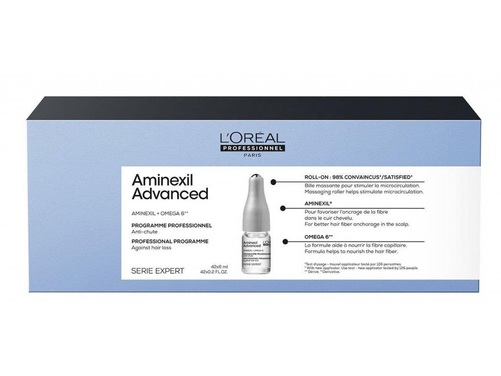 Loréal Professionnel Expert Aminexil - kúra proti padání vlasů 42 x 6 ml