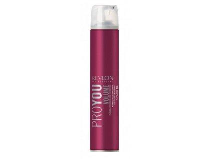 Revlon Professional ProYou Volume Hair Spray - stylingový lak pro objem vlasů 500ml