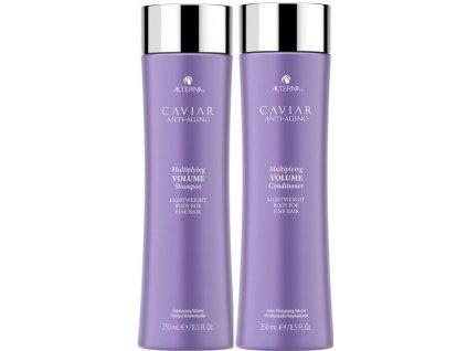 Alterna Caviar Multiplying Volume Duo - šampon s kaviárem pro objem vlasů 250ml + kondicionér pro objem vlasů 250ml