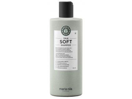 Maria Nila True Soft Shampoo – hydratační šampon s arganovým olejem na suché vlasy 350ml