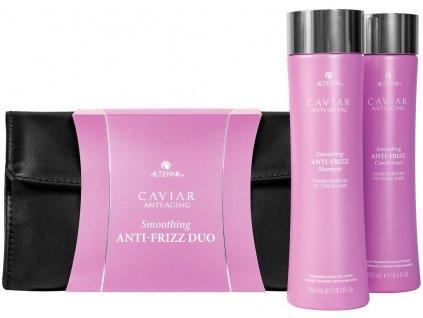 Alterna Caviar Smoothing Anti-Frizz Duo Set – uhlazující šampon 250ml + uhlazující kondicionér na nepoddajné a krepaté vlasy 250ml