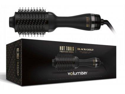 Hot Tools Volumiser Black Gold Limited - oválný horkovzdušný kartáč na vlasy