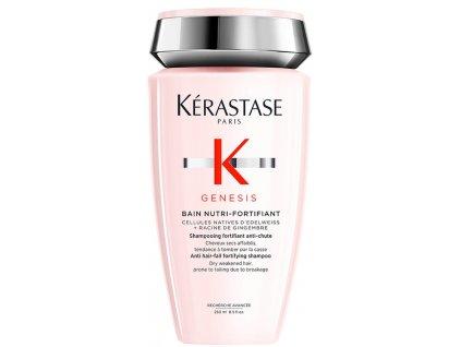 Kérastase Genesis Bain Nutri-Fortifiant - zpevňující šampon proti padání vlasů, pro suché, silné vlasy 250ml