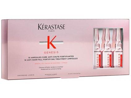 Kérastase Genesis Ampoules Cure Fortifiantes Anti-Chute - zpevňující kúra proti padání vlasů 10x6 ml
