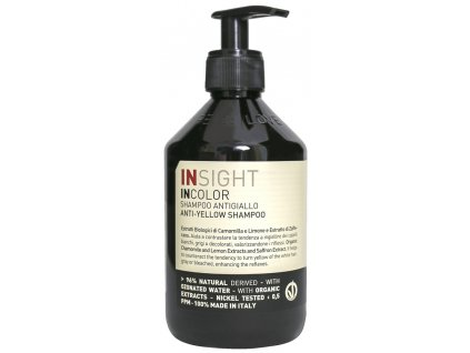 Insight Incolor Anti Yellow Shampoo 400