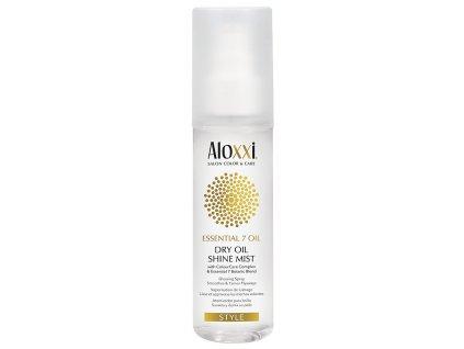 Aloxxi Essential 7 Oil Dry Oil Shine Mist - suchý olej pro lesk vlasů