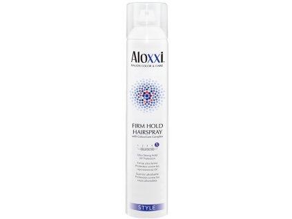 Aloxxi Firm Hold Hairspray - silně tužící lak na vlasy