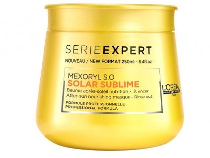 Loréal Professionnel Expert Solar Sublime – vyživující maska pro vlasy namáhané sluncem 250ml