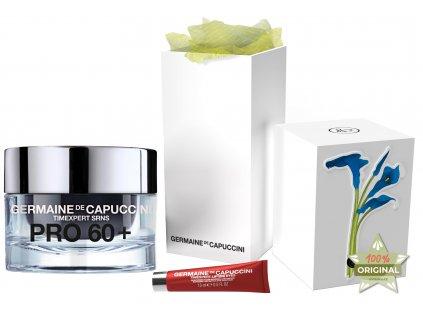 Germaine de Capuccini Timexpert Srns Pro 60+ Summer Set – výživný krém pro zralou pleť 50ml + liftingový krém na oční okolí 15ml