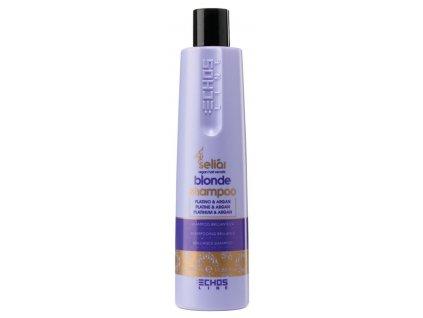 Echosline Seliar Blonde - šampon s platinovými pigmenty pro blond odstíny
