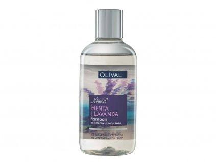 Olival Hair - přírodní šampon s mátou a levandulí 250ml