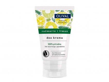 Olival Natural - přírodní deo krém s rozmarýnem a citronem 50ml