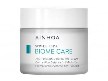 Ainhoa Biome Care Anti-Pollution Defence Rich Cream - ochranný krém proti znečištění pro suchou pleť 250ml