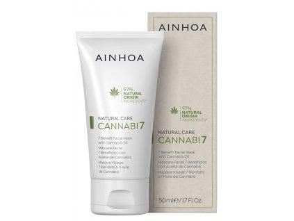 Ainhoa Cannabi7 Mask - pleťová maska s konopným olejem 50 ml