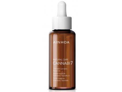 Ainhoa Cannabi7 Oil - pleťový konopný olej 50 ml