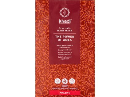 khadi ayurvedic hair mask the power of amla 8800 k