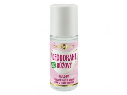 290235 PURITY VISION Bio Růžový Deodorant roll on 50 ml
