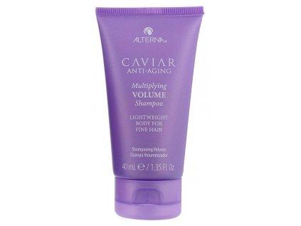 Alterna Caviar Multiplying Volume MINI - šampon s kaviárem pro objem vlasů 40 ml