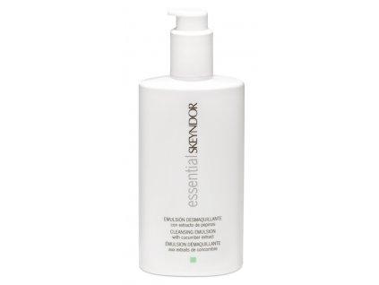Skeyndor Essential Cleansing Emulsion with Cucumber Extract – čisticí emulze s výtažkem z okurky pro mastnou až smíšenou pleť 200ml