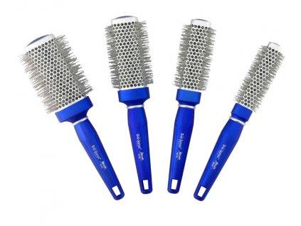 Bio Ionic BlueWave - iontový kulatý kartáč na vlasy