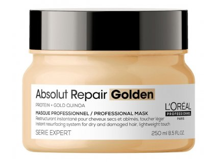 Loréal Professionnel Expert Absolut Repair Golden Quinoa + Protein - regenerační maska pro velmi poškozené vlasy 250 ml