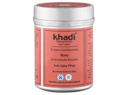 khadi herbal face mask rose1