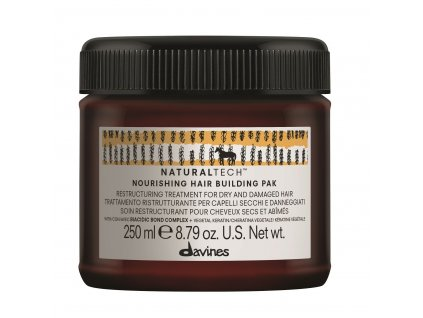 davines naturaltech nourishing hair building pak 250ml