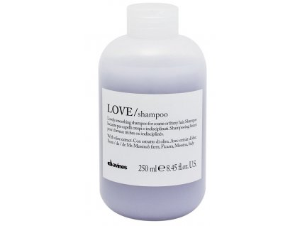 Davines Essential Love Smoothing Shampoo - uhlazující šampon pro nepoddajné a krepaté vlasy 250ml