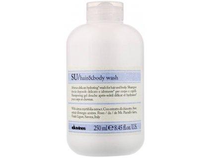 Davines Sú - hydratační šampon po opalování na tělo a vlasy 250ml