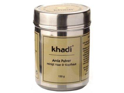 Khadi prášek AMLA - ajurvédský kondicionér a vlasová kúra 150g