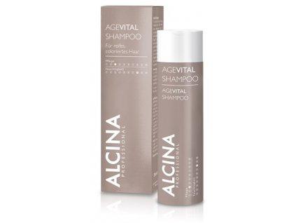 Alcina Agevital Shampoo - revitalizační a posilující šampon pro zralé a křehké vlasy 250ml