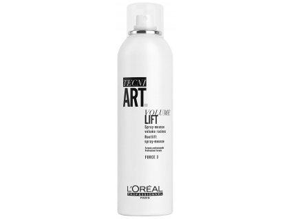 Loréal Professionnel Tecni.Art Volume Lift - pěnové tužidlo pro objem vlasů od kořínků 250 ml