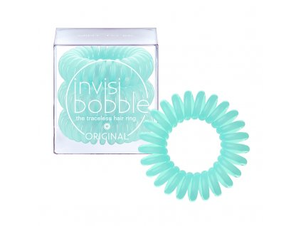 Invisibobble Original Mint To Be - gumička do vlasů mátově zelená 3ks