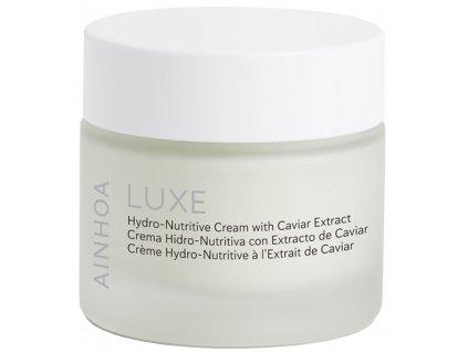 Ainhoa Luxe Cellular Complex Hydro-Nutritive Cream – hydronutritivní krém s kaviárem pro smíšenou pleť 50ml
