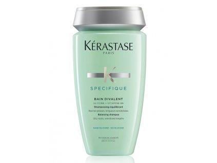 Kérastase Specifique Bain Divalent - vyrovnávací šampon pro mastnou pokožku hlavy 250ml