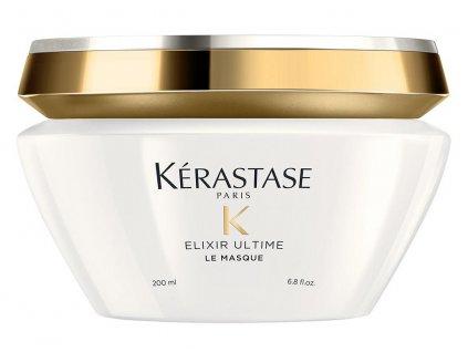 Kérastase Elixir Ultime Le Masque - zkrášlující olejová maska na vlasy 200 ml