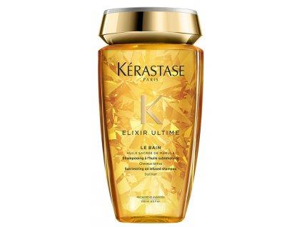 Kérastase Elixir Ultime Le Bain - zkrášlující olejový šampon pro všechny typy vlasů 250ml