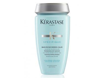 Kérastase Specifique Bain Riche Dermo-Calm - zklidňující šampon pro citlivou pokožku hlavy 250 ml