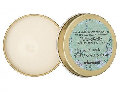 Davines More Inside Medium Hold Finishing Gum - středně fixační guma na vlasy 75 ml