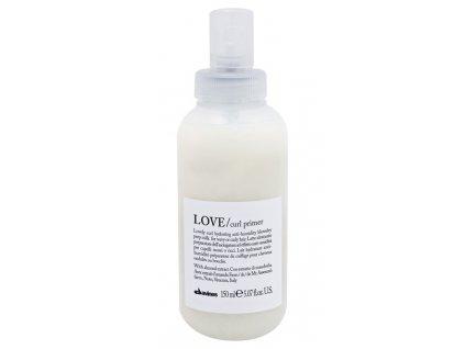 Davines Essential Love Curl Primer - bezoplachové mléko pro definici vlnitých a kudrnatých vlasů 150 ml