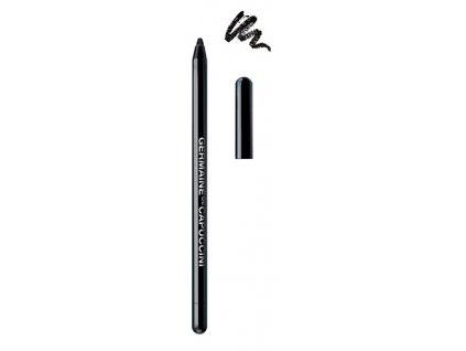 Germaine de Capuccini Lounge Day-Long Perfection - černá voděodolná kajalová tužka na oči 0,5g