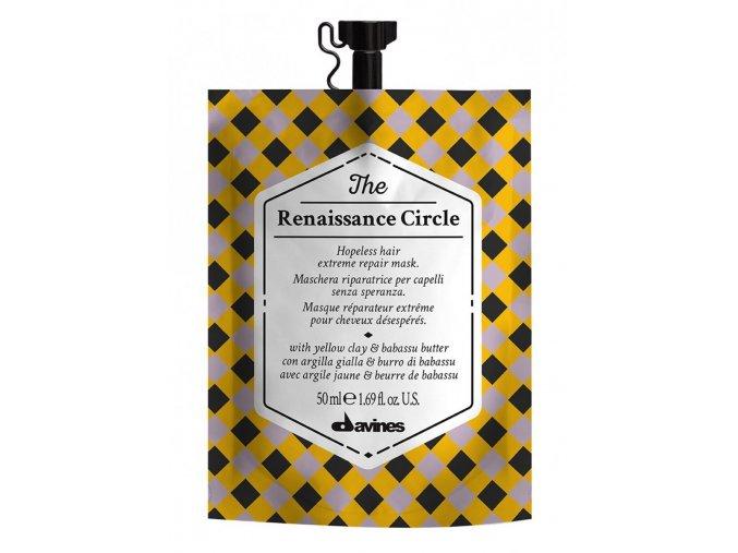 Davines The Circle Chronicles Wake-Up - revitalizační maska na vlasy i pokožku hlavy 50ml