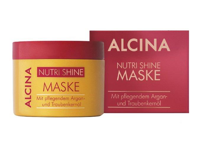 Alcina Nutri Shine - regenerační maska na vlasy s arganovým olejem 200ml
