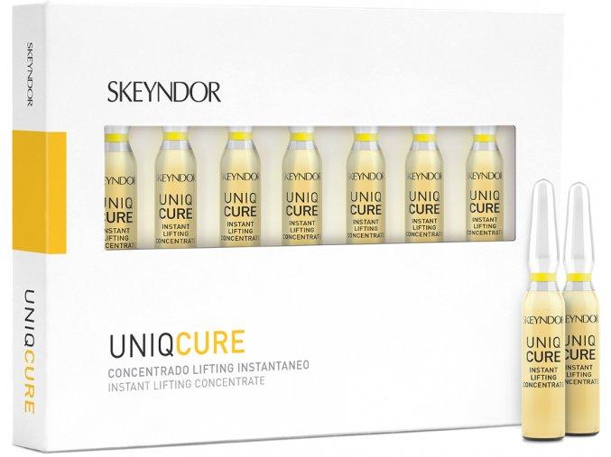 Skeyndor Uniqcure - pleťový koncentrát s liftingovým účinkem 7x2ml